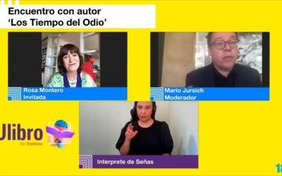 """""""Los novelistas somos niños que juegan a ser Dios"""": Rosa Montero"""